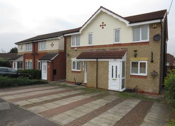 Thumbnail 2 bed semi-detached house for sale in Grimston Close, Thurmaston, Leicester