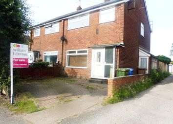 Thumbnail 3 bed semi-detached house for sale in Swinemoor Lane, Beverley