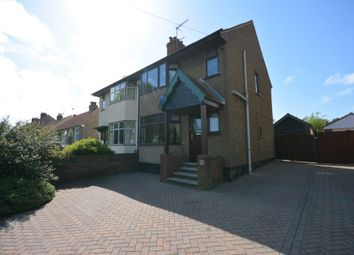 Thumbnail 3 bed semi-detached house for sale in Dell Road, Lowestoft