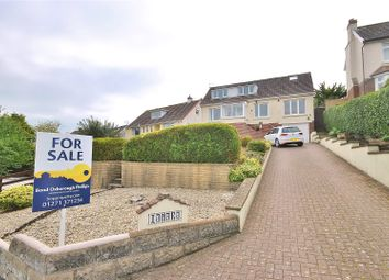 Thumbnail 4 bedroom detached house for sale in Old Sticklepath Hill, Sticklepath, Barnstaple