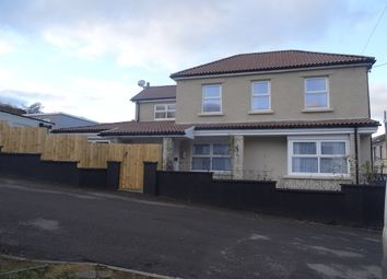 Thumbnail 3 bed link-detached house for sale in Gethin Street, Abercanaid, Merthyr Tydfil