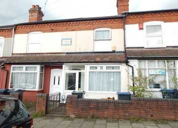 Thumbnail 3 bed terraced house for sale in Milner Road, Selly Oak, Birmingham