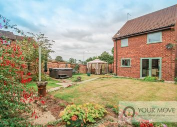 Thumbnail 3 bed detached house for sale in Bungay Road, Halesworth