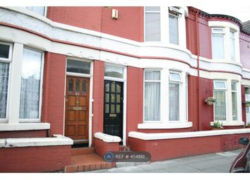Thumbnail 3 bed terraced house to rent in Rathbone Road, Liverpool