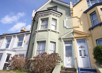 Thumbnail 4 bedroom terraced house for sale in Saxon Road, Hastings, East Sussex.