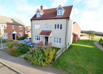 Thumbnail 4 bed detached house for sale in The Ride, Desborough, Kettering