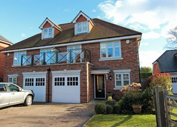 Thumbnail 3 bed town house for sale in Miller Smith Close, Tadworth