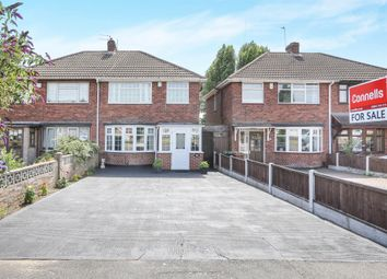 Thumbnail 3 bed semi-detached house for sale in March End Road, Wednesfield, Wolverhampton