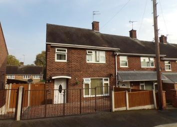 Thumbnail 3 bed end terrace house for sale in Campden Green, Clifton, Nottingham, Nottinghamshire