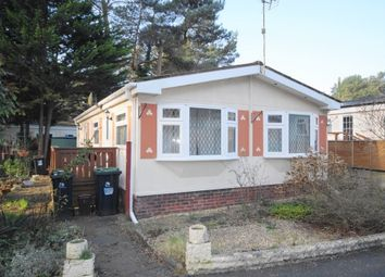 Thumbnail 2 bed mobile/park home for sale in Ringwood Road, St. Ives, Ringwood