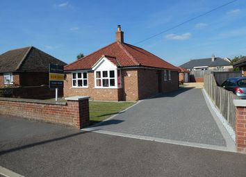 Thumbnail 3 bed detached bungalow for sale in Recreation Drive, Southery, Downham Market
