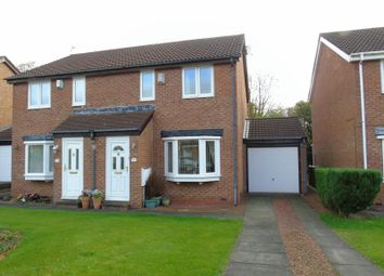 Thumbnail 3 bed semi-detached house for sale in Cobalt Close, Newcastle Upon Tyne