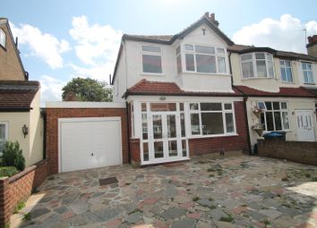 Thumbnail 3 bed end terrace house to rent in Cranborne Avenue, Tolworth, Surbiton