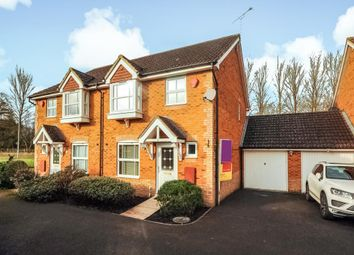 Thumbnail 3 bed semi-detached house to rent in Arborfield, Wokingham