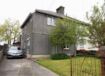 Thumbnail 4 bedroom semi-detached house for sale in Brynllwchwr Road, Loughor