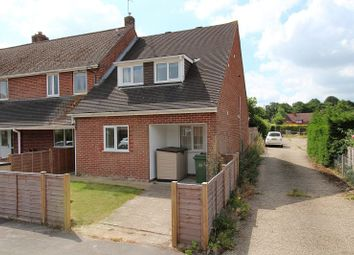 Thumbnail 3 bed terraced house for sale in Roundfield, Upper Bucklebury, Reading