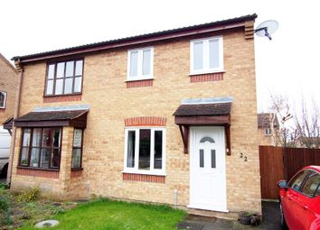 Thumbnail 2 bed semi-detached house for sale in Barnham Broom Road, Wymondham