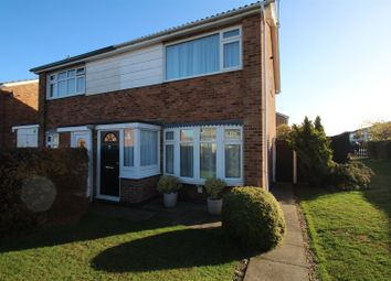 Thumbnail 3 bed semi-detached house for sale in Pine Drive, Syston, Leicester