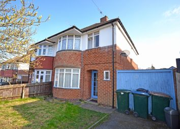 Thumbnail 3 bed semi-detached house to rent in Brayford Avenue, Styvechale, Coventry