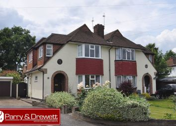 Thumbnail 3 bed semi-detached house for sale in Hopton Gardens, New Malden