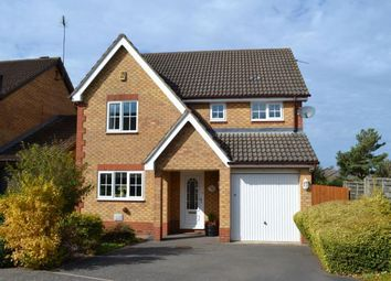 Thumbnail 4 bed detached house for sale in Lancaster Way, Buckingham Fields, Northampton