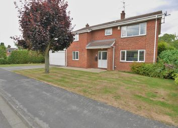 Thumbnail 4 bed detached house for sale in Park Road, Airmyn, Goole