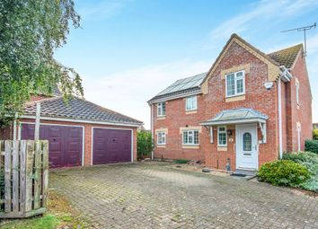 Thumbnail 4 bed detached house for sale in Alder Close, North Walsham