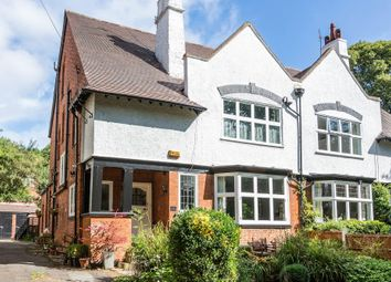 Thumbnail 5 bed semi-detached house for sale in Mapperley Hall Drive, Mapperley Park, Nottingham