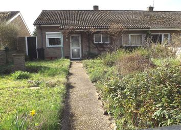 Thumbnail 2 bed semi-detached bungalow for sale in Gamlingay Road, Potton