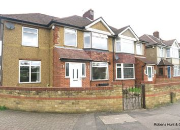 Thumbnail 4 bed semi-detached house for sale in Staines Road, Bedfont, Feltham