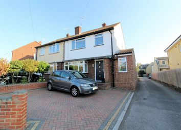 Thumbnail 3 bed semi-detached house for sale in Grove Road, Hitchin, Hertfordshire