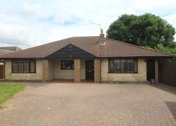 Thumbnail 4 bed detached bungalow for sale in Lincoln Road, Northborough, Peterborough