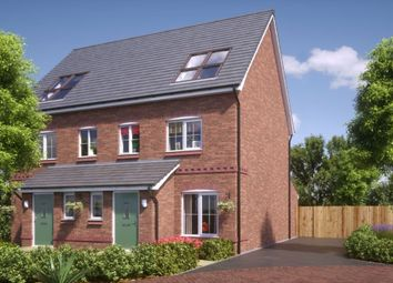Thumbnail 3 bed semi-detached house for sale in New Calder Rectory Lane, Standish, Wigan