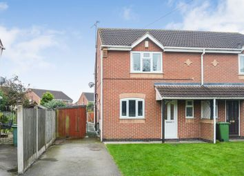 Thumbnail 3 bed semi-detached house for sale in Belle Vue Lane, Blidworth, Mansfield