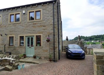 Thumbnail 3 bed semi-detached house for sale in Handel Street, Golcar, Huddersfield
