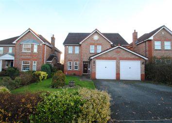 Thumbnail 5 bed detached house for sale in Edenbridge Gardens, Appleton, Warrington