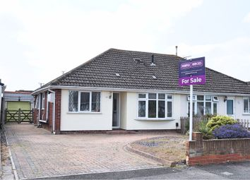Thumbnail 3 bed semi-detached bungalow for sale in Summerhouse Road, Wroughton
