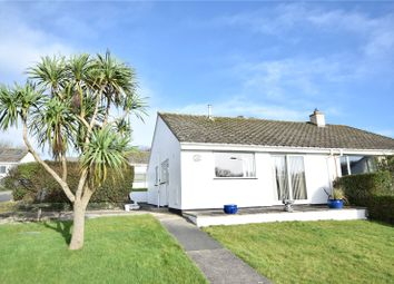 Thumbnail 2 bed semi-detached house for sale in Hallett Way, Bude