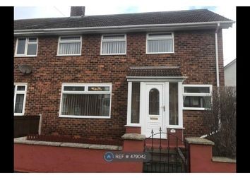 Thumbnail 3 bed semi-detached house to rent in Dunoon Road, Hartlepool