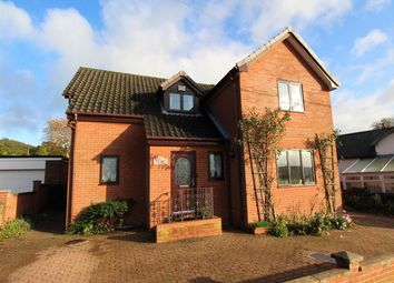 Thumbnail 4 bed detached house for sale in The Folly, Haughley, Stowmarket