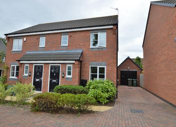 Thumbnail 3 bed semi-detached house for sale in Albert Road, Countesthorpe, Leicester