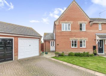 Thumbnail 3 bed semi-detached house for sale in Brussels Close, Dovercourt, Harwich