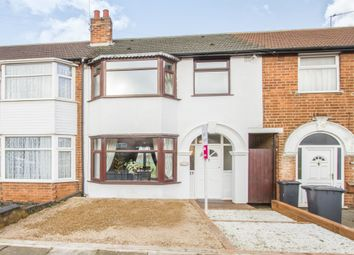 Thumbnail 3 bed terraced house for sale in Milligan Road, Leicester