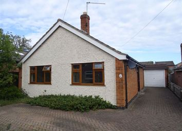 Thumbnail 2 bed detached bungalow to rent in Princes Close, Anstey, Leicester