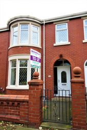 Thumbnail 3 bed terraced house to rent in Watson Road, Blackpool, Lancashire