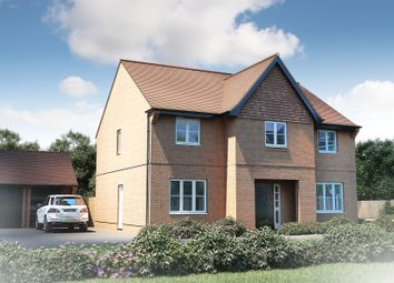 "Thumbnail 5 bedroom detached house for sale in ""The Sandham"" at Furlongs, Drayton, Abingdon"