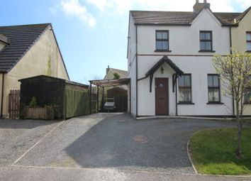 Thumbnail 3 bed semi-detached house to rent in Oak Avenue, Ballyhalbert, Newtownards