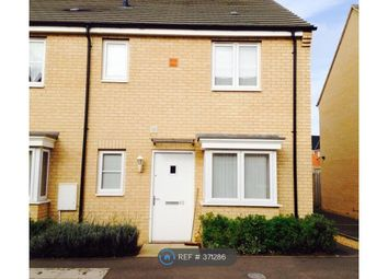 Thumbnail 1 bed end terrace house to rent in Apollo Avenue, Peterborough