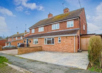 Thumbnail 3 bed semi-detached house for sale in Thornhill, Thornborough, Buckingham