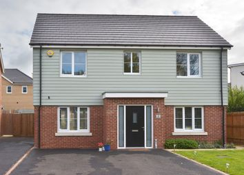 Thumbnail 4 bed detached house for sale in Local Centre, Knebworth Gate, Giffard Park, Milton Keynes